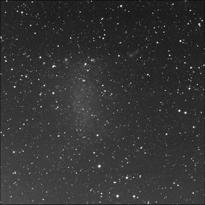 RASC Barnard's Galaxy NGC 6822 luminance