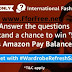 #WardrobeRefreshSale : Amazon International Fashion Refresh Quiz 40 Winners