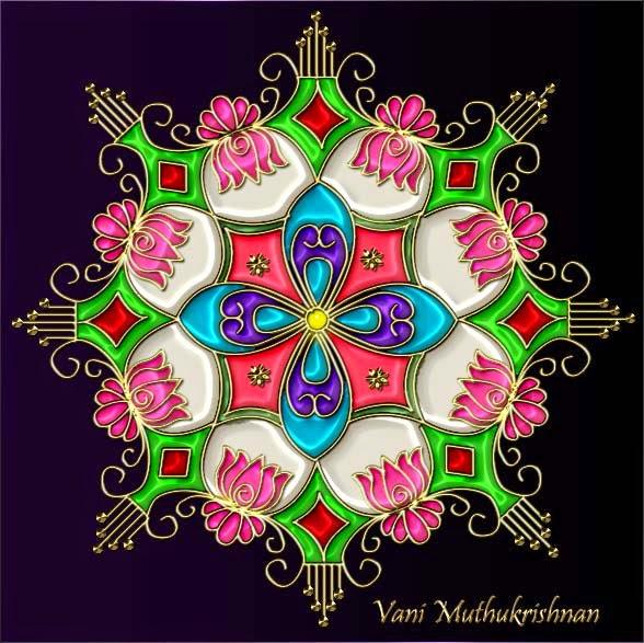 Kolam Designs 2