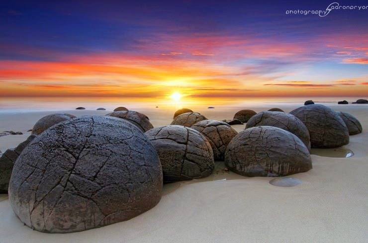 23. Moeraki Boulders, Otago, South Island, New Zealand - 29 Most Exciting Beaches to Visit
