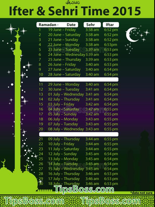 Iftar Time Ramadan 2018 - Tips Tricks & Tutorial