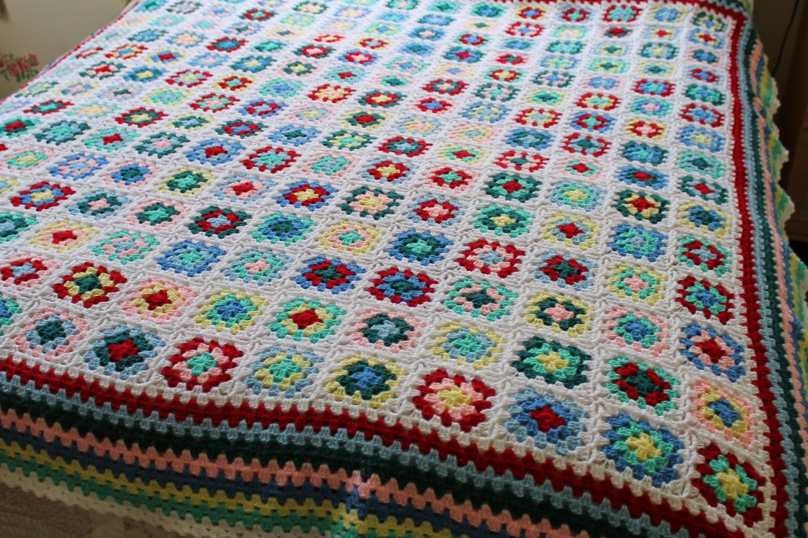 No Two The Same Crochet Blanket