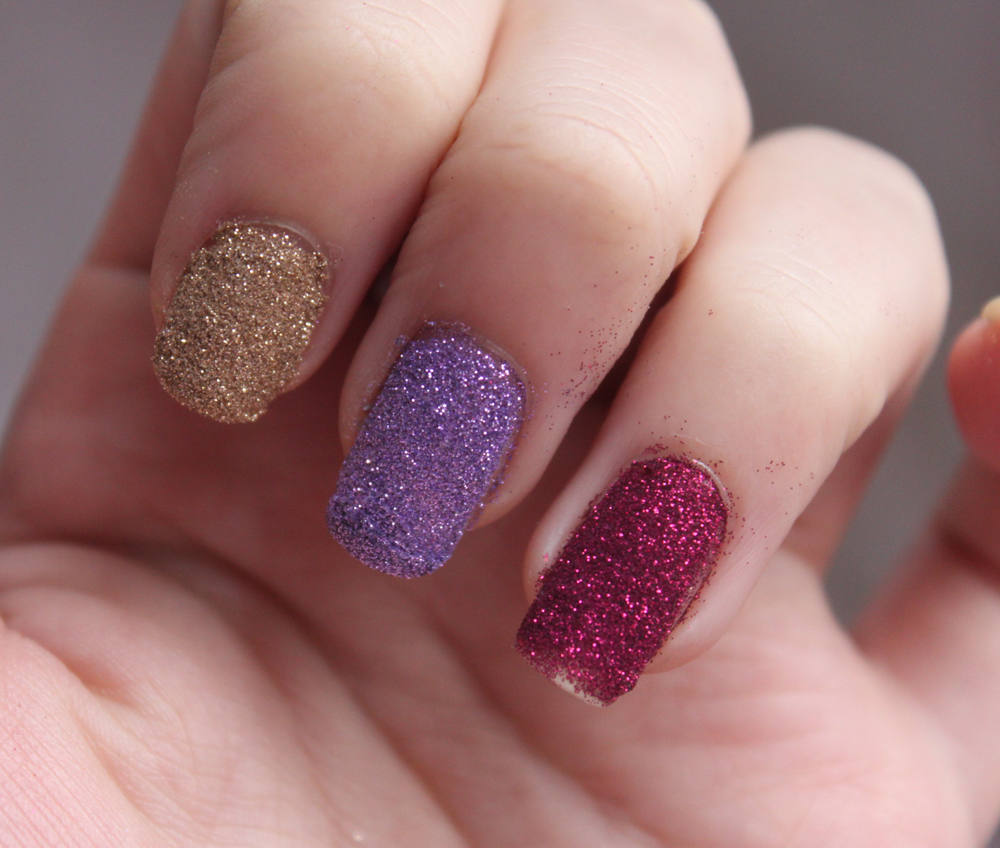 Glitter Nails: GOSH Nail Glitter - A Little Obsessed