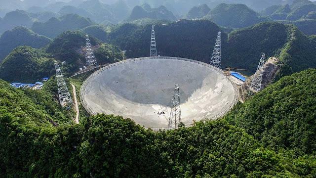 Teleskop Terbesar Di Dunia Terbengkalai Begitu Saja