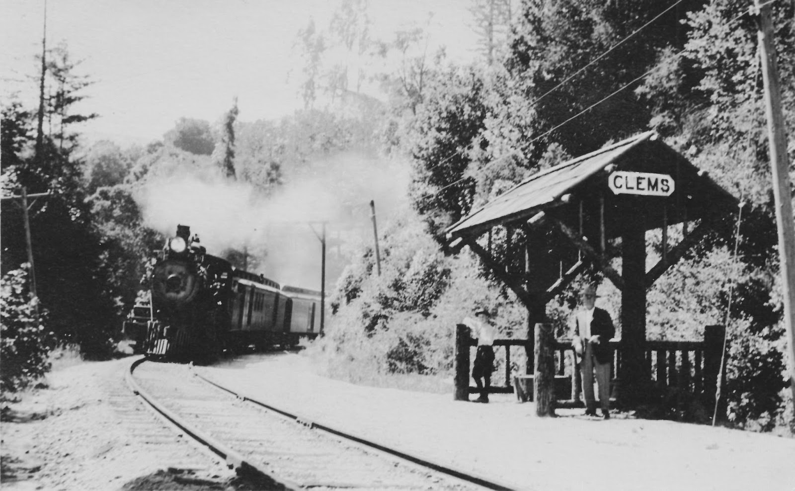 Santa Cruz Trains Railroads Of The Monterey Bay Stations