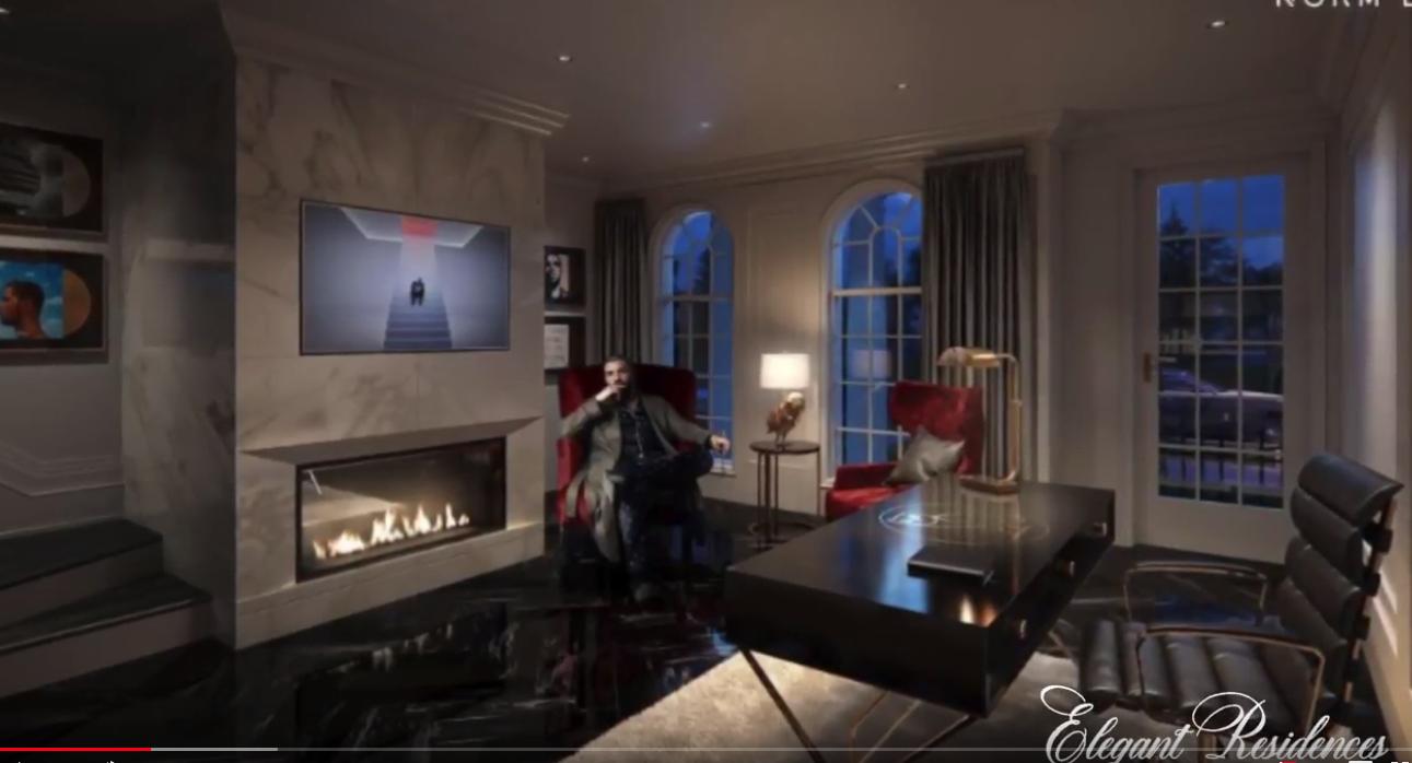 Tour Drake S Million Dollar Masterpiece Mansion By