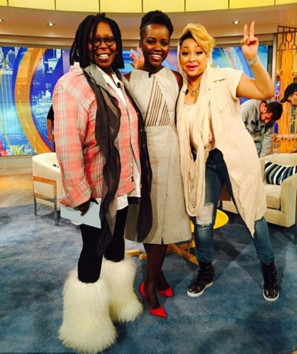 Lupita Nyong'o In BOSS At The View