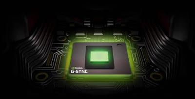 Spesifikasi ASUS ROG GX800 G-SYNC NVIDIA