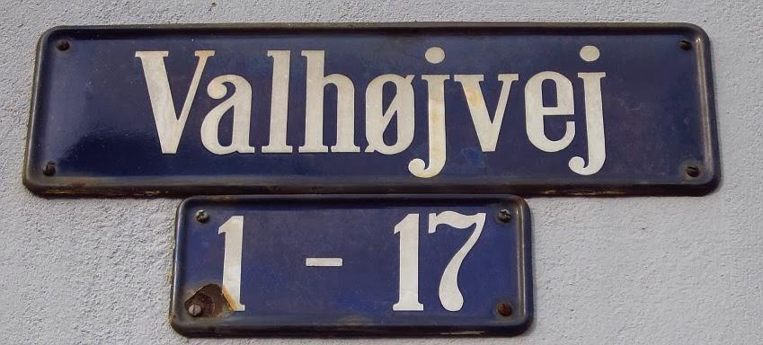 Valby og København, før og nu: Valhøjvej - Valby