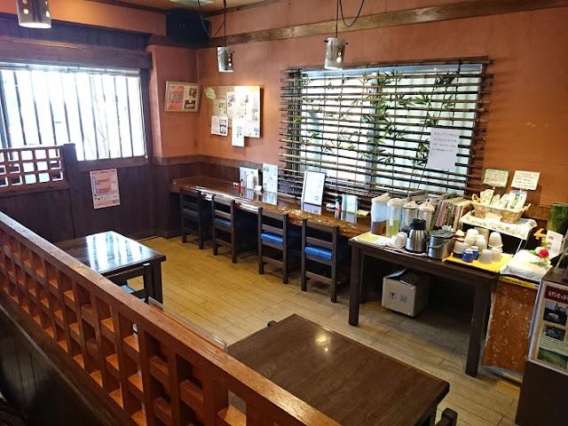 日本そば 南都川の店内の写真