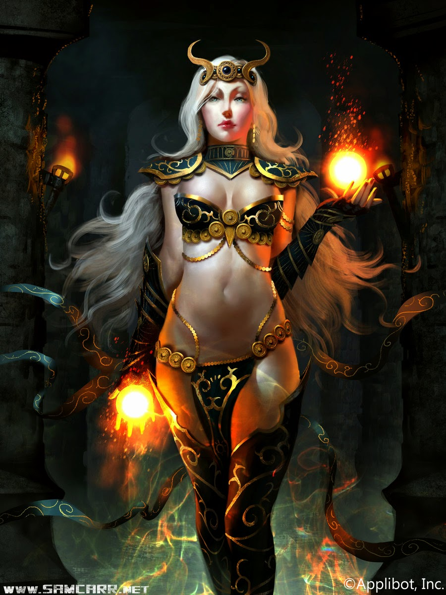 Legend of the Cryptids - Pyromancy Sorceress Advanced