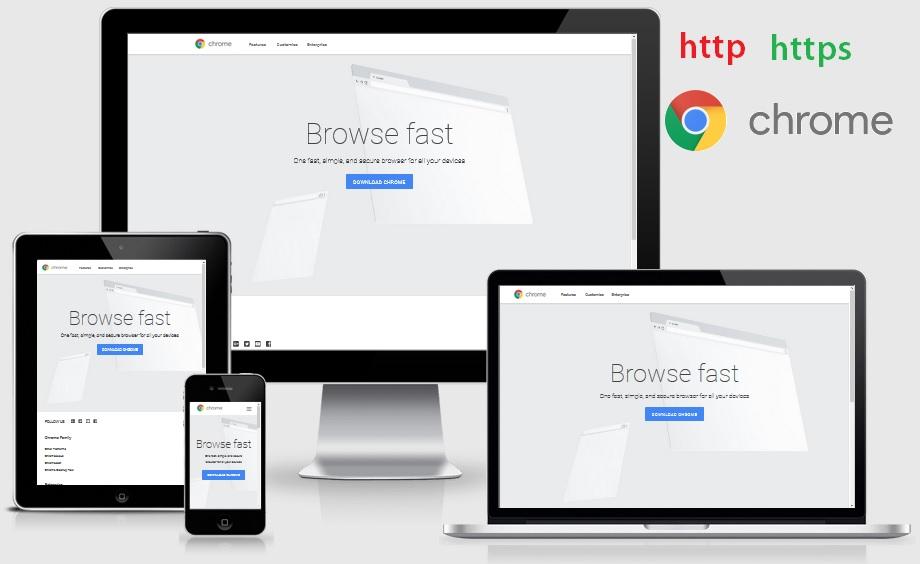Browser Chrome Tandai Situs Http sebagai Tidak Aman