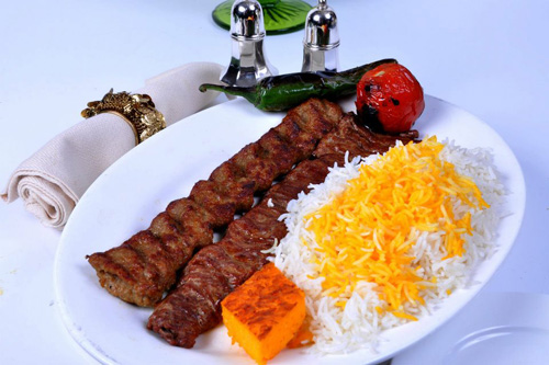 The Bong Style Chicken Chelo Kabab