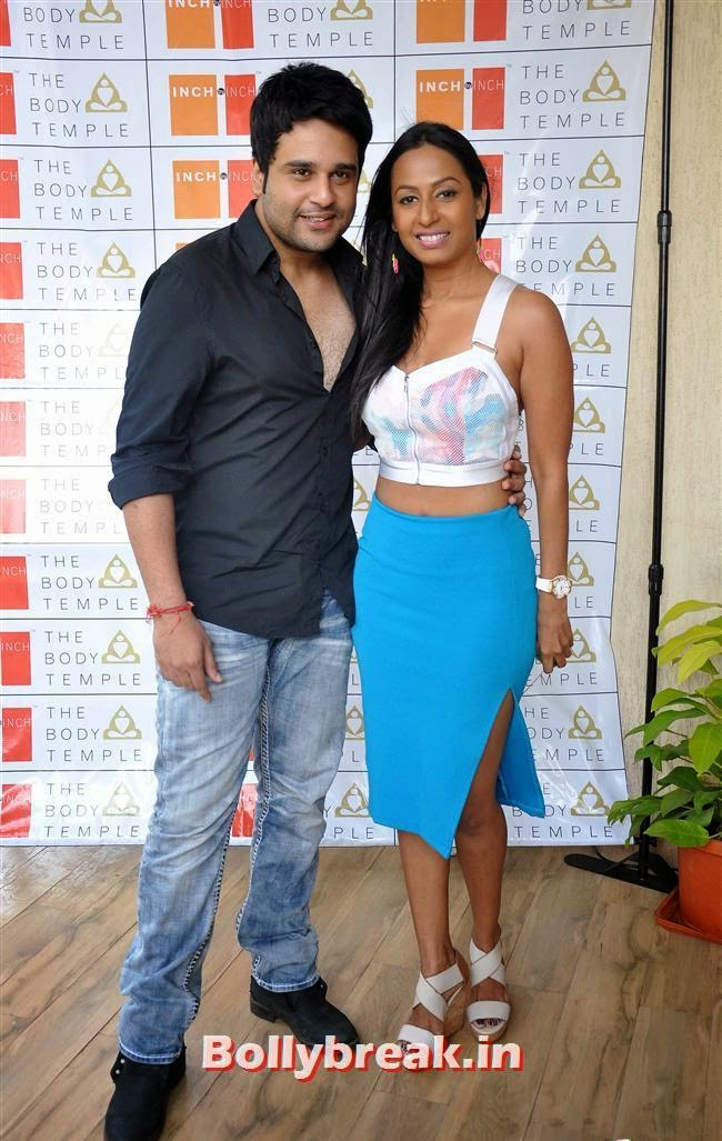 Abhishek and Kashmera Shah, Bollywood Page 3 Celebs at Sheetal Nahar Brunch Party