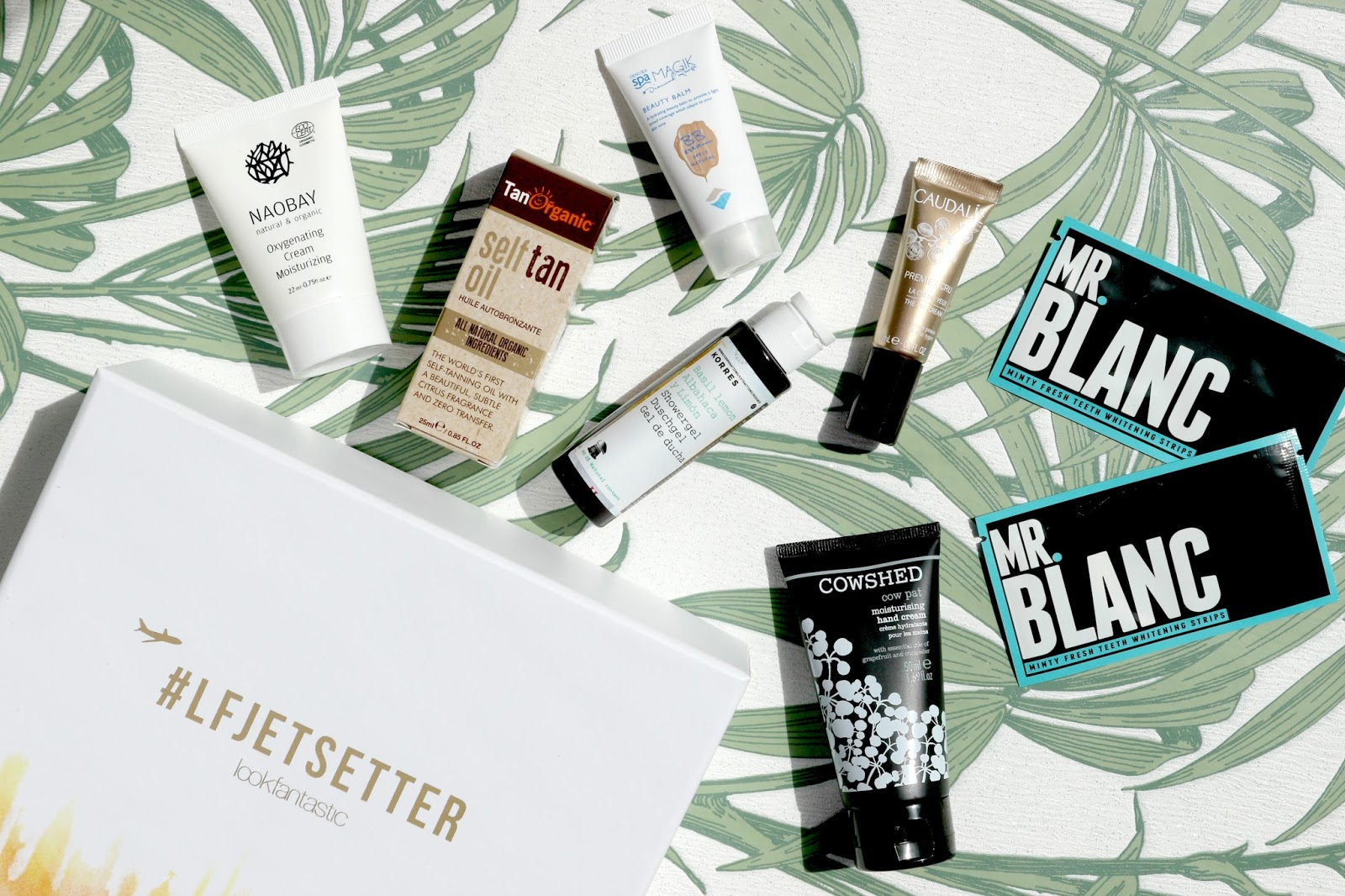 #LFJetsetter Look Fantastic Beauty Box Review