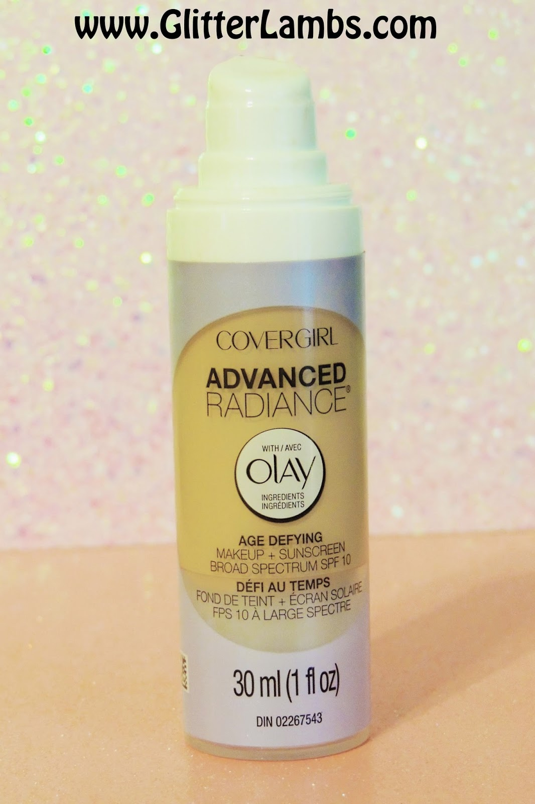 COVERGIRL Advanced Radiance Age Defying Liquid Foundation Ivory 105 Review