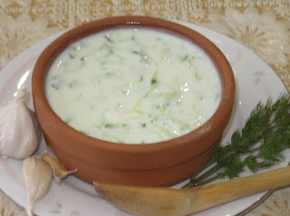 Cacik (Seasoned and Diluted Yoghurt)
