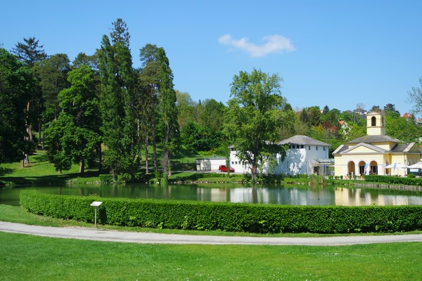 autriche burgenland eisenstadt palais esterhazy palace schlosspark
