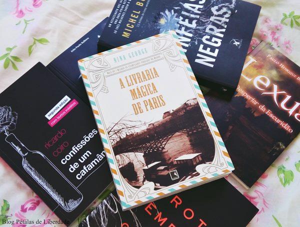 """Resenha, livro, """"A livraria mágica de Paris"""", Nina George"""