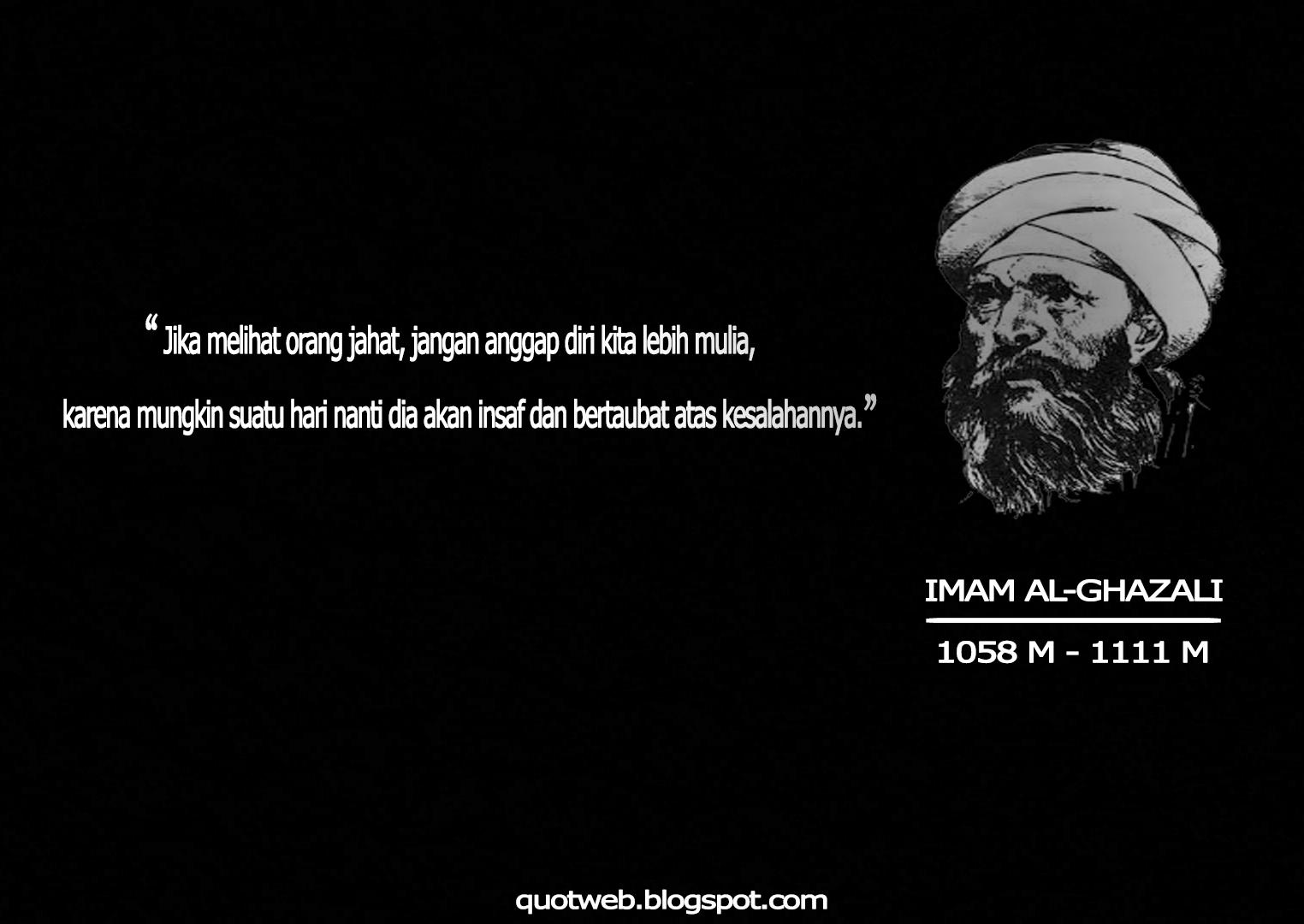 Kata Bijak Imam Ghazali Tentang Ilmu Cikimmcom