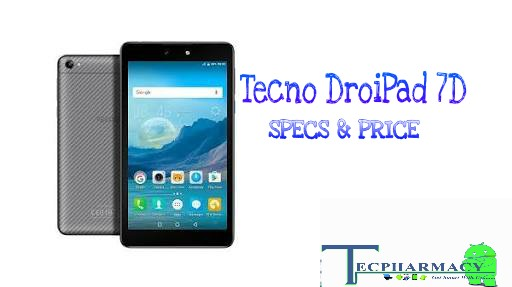The Tecno DroiPad 7D Smartphone Full Review,Specs & Price
