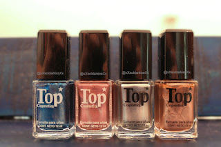 esmaltes de uñas efecto espejo top cosmetics