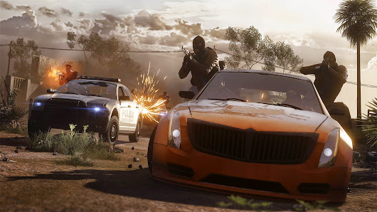 Battlefield Hardline, Hotwire Multiplayer Gameplay Trailer ~ T3chmuz