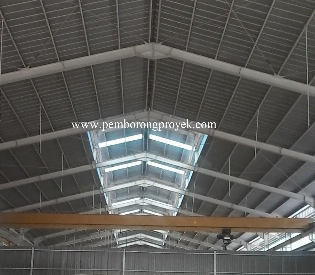 kontraktor baja ringan jakarta jasa konstruksi pabrik gudang rumah murah cv