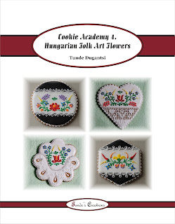 Cookie Academy 4 - Hungarian Folk Art Flowers