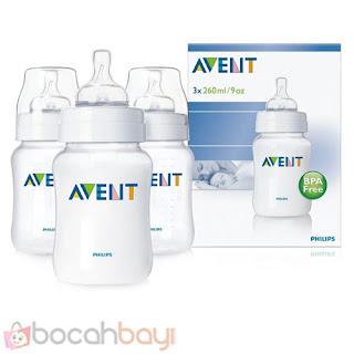 Avent Classic, Botol Avent, Botol Susu, Botol Asi, Feeding Botol