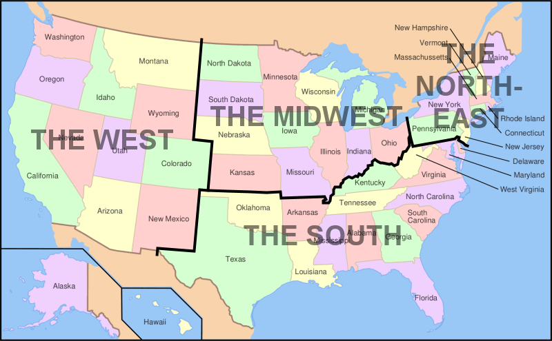 Why Name It That State Names in the United States part 2
