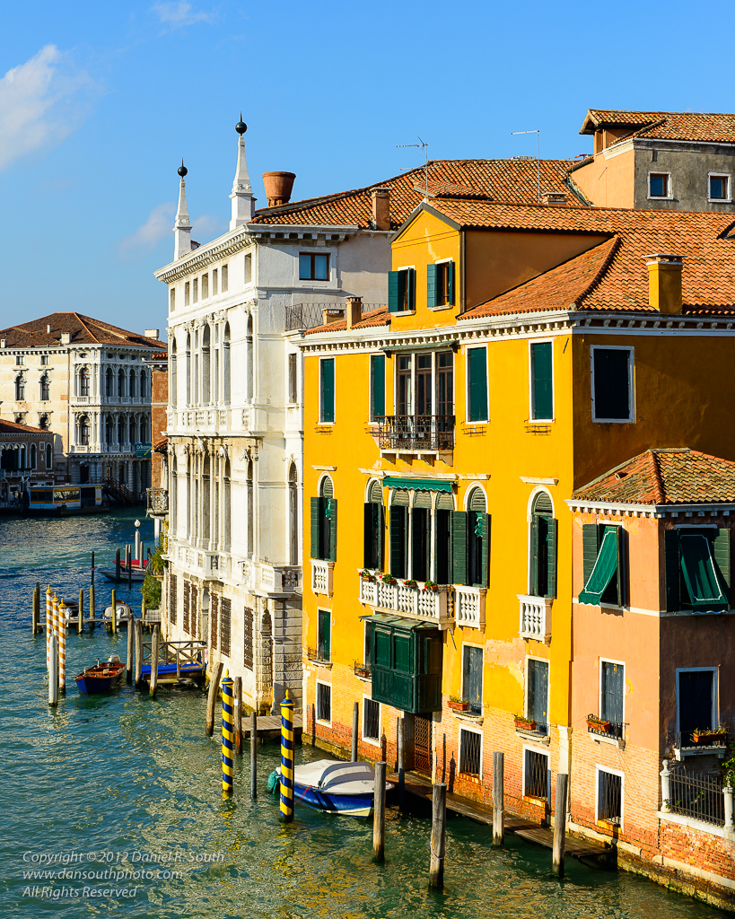 a photo of the grand canal venice