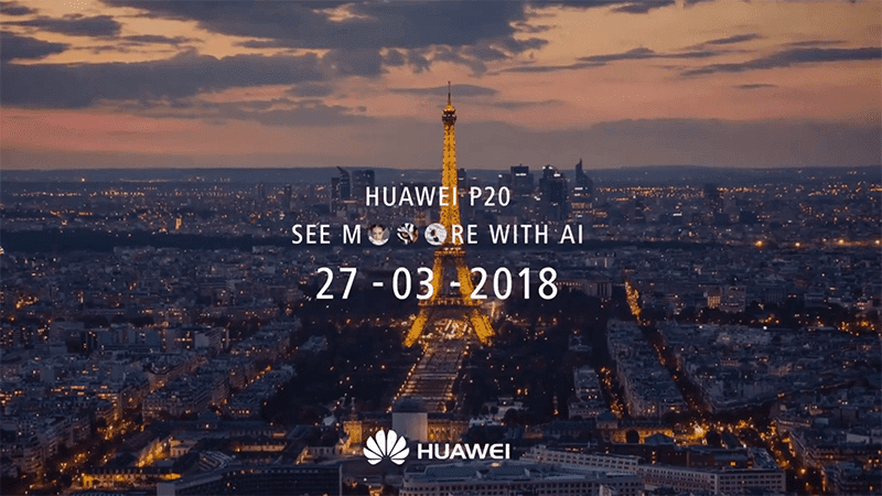 Huawei confirms the P20, will come with a triple camera setup