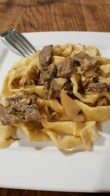Tagliatelle-Beef