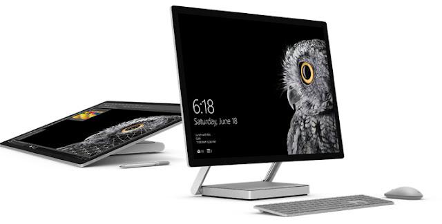 """مايكروسوفت تكشف رسميا عن """"Surface Studio"""" أول كمبيوتر مكتبي بمواصفات خارقة"""