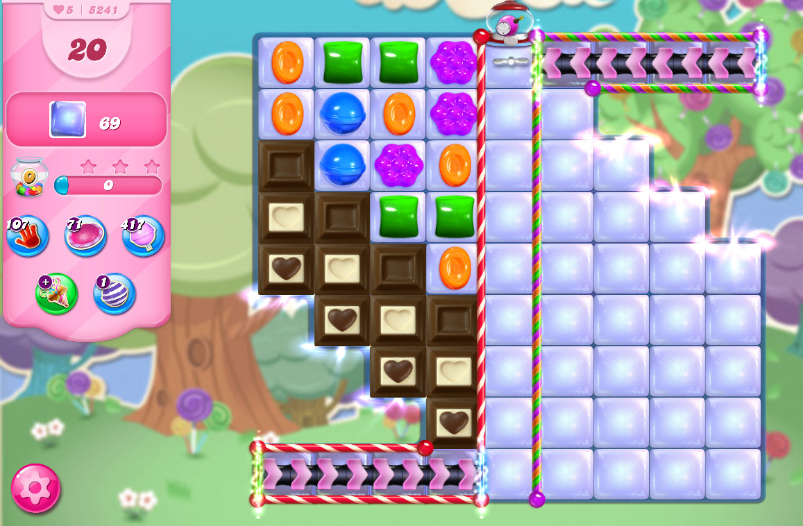 Candy Crush Saga level 5241
