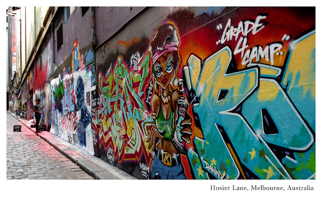 Australia: Top Things to Do and See in Melbourne - Hosier Lane | Ramble and Wander