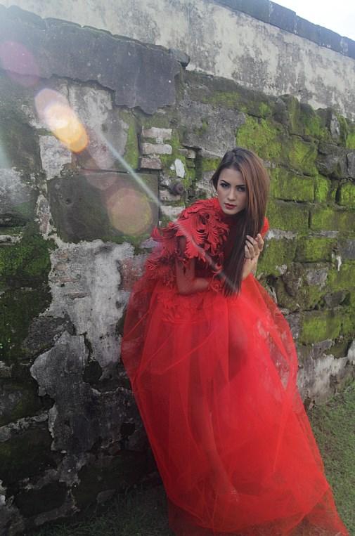 cerita n Hunting konsep foto model cantik igo Cinta Rarung model