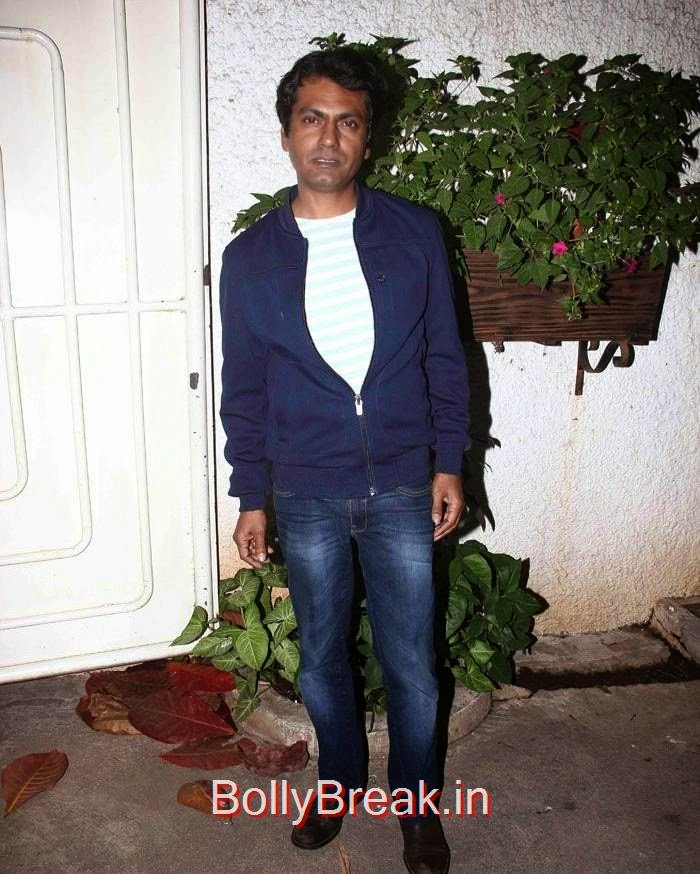 Nawazuddin Siddiqui, Radhika Apte Hot Images At 'Badlapur' Special Screening