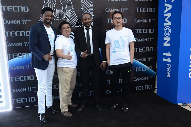 Tecno Mobile announces Camon 11 pro, 24mp clear selfie phone with AI Technology