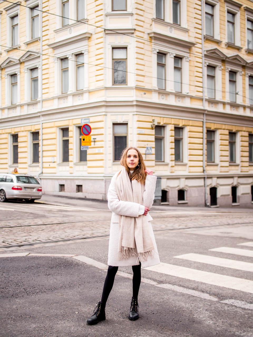 Fashion blogger winter outfit - Muotibloggaaja, talvimuoti, tyyli, Helsinki