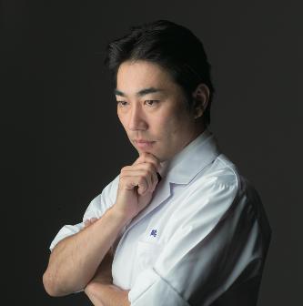 Chef Nobuyuki Tanaka of Tsuruse
