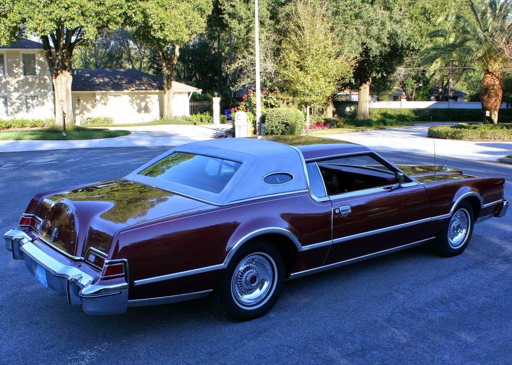 All American Classic Cars 1976 Lincoln Continental Pucci