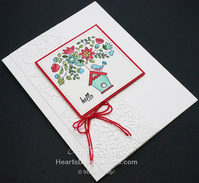 Heart's Delight Cards, Flying Home, Hello, Thoughtful Banners, Stampin' Up!