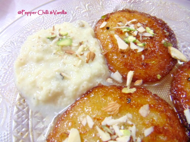 malpua recipe with rabri
