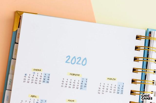 Agenda ilustrada 2020 calendario Pedrita Parker