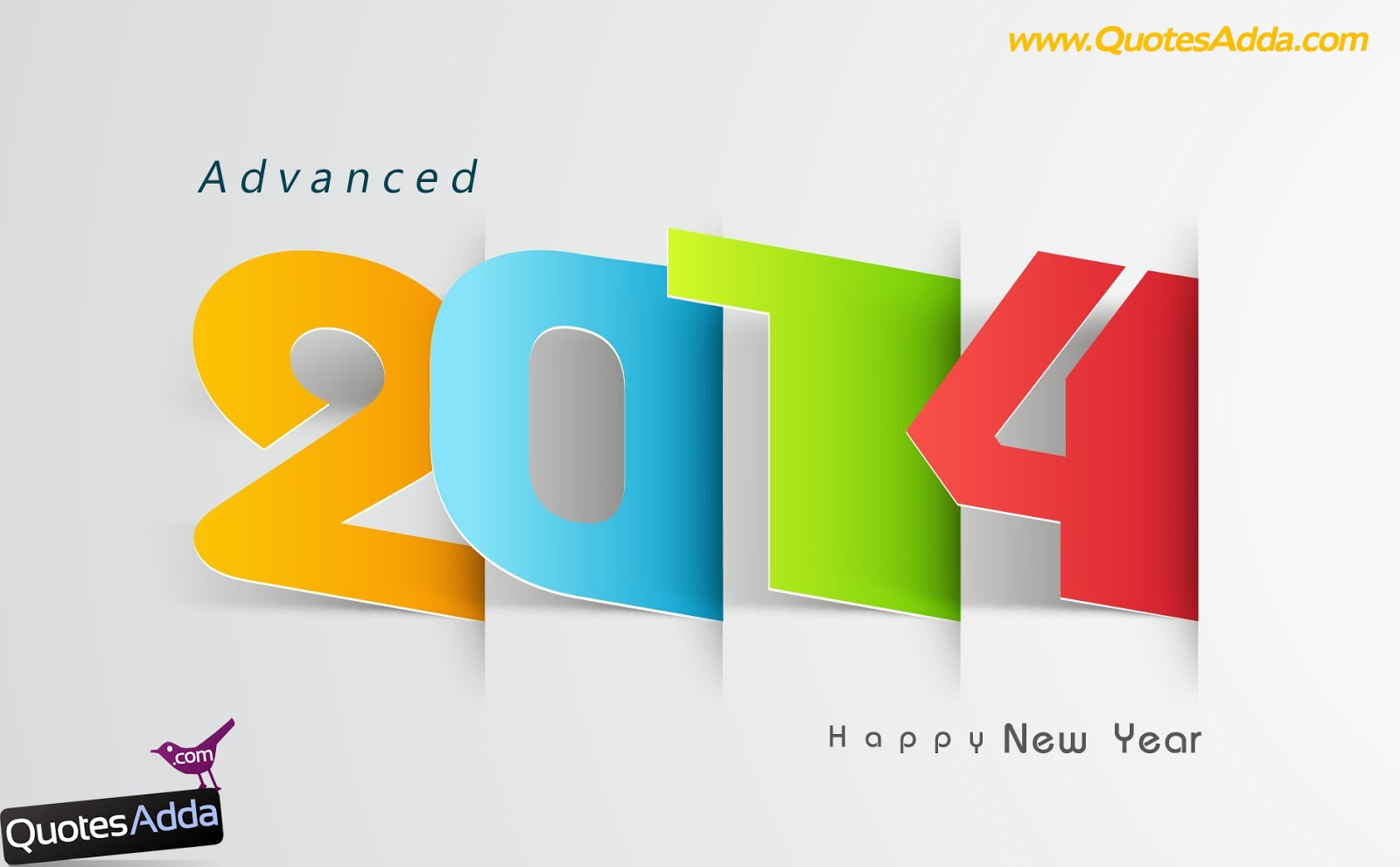 New Year Wallpapers HD  Advance Happy New Year Quotations In English