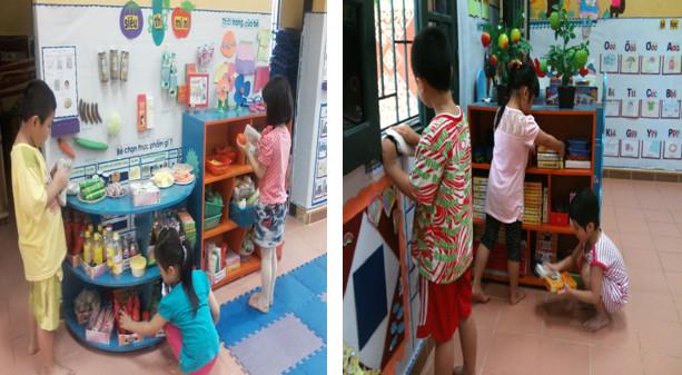 Giáo dục trẻ mầm non giữ gìn vệ sinh môi trường