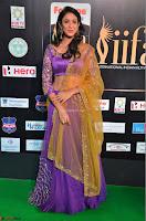 Priya Sri in Purple Choli Stunning Beauty at IIFA Utsavam Awards 2017  Day 2 at  30.JPG