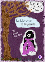 La Llorona legend with Spanish readings in two levels packet cover with a picture of the skeleton-like ghost